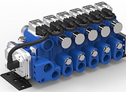 CMA, geavanceerde mobiele ventielen met onafhankelijke drukmeting.