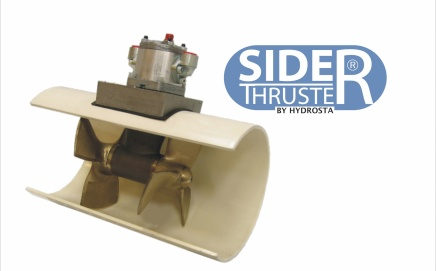 Hydraulic bow thrusters